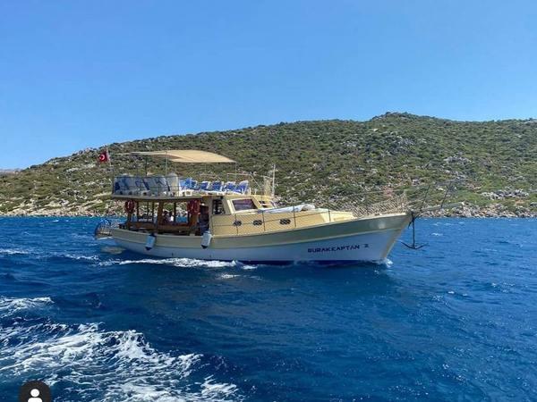 Burak Kaptan 2 Teknesi Bozburun